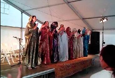 Grupo de mujeres Ensemble Rabi'a