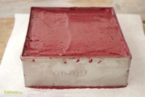 Rellenando el molde