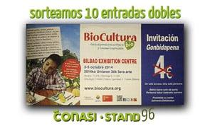 Biocultura Bilbao 2014. Guía de actividades y sorteo de entradas