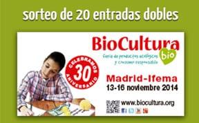 Sorteo entradas Biocultura Madrid 2014