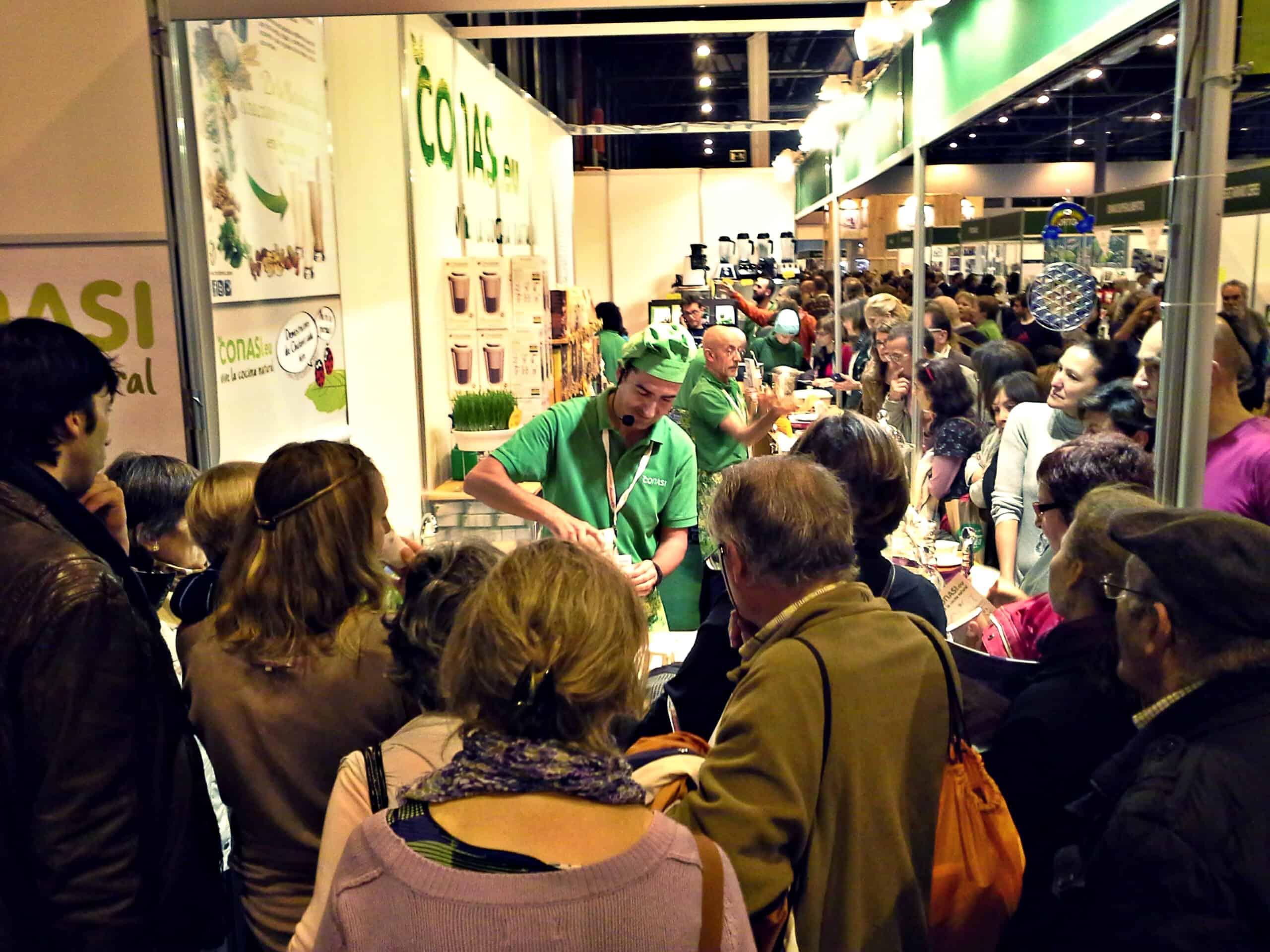 Ambiente en Biocultura. El stand y la feria ¡llenos! Biocultura Madrid ha sido todo un éxito