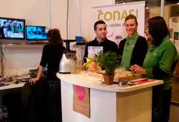 Showcooking en directo a través de Tv Bio. Desayunos saludables con Elka y Odile
