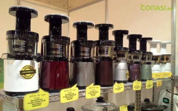 Extractores de zumo de presión en frío: Hurom y Versapers