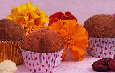 Arandacardos, dulces crudiveganos