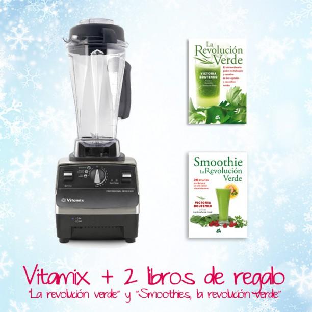 Ahora la Vitamix Pro 500 con 2 libros de Vitoria Boutenko de regalo