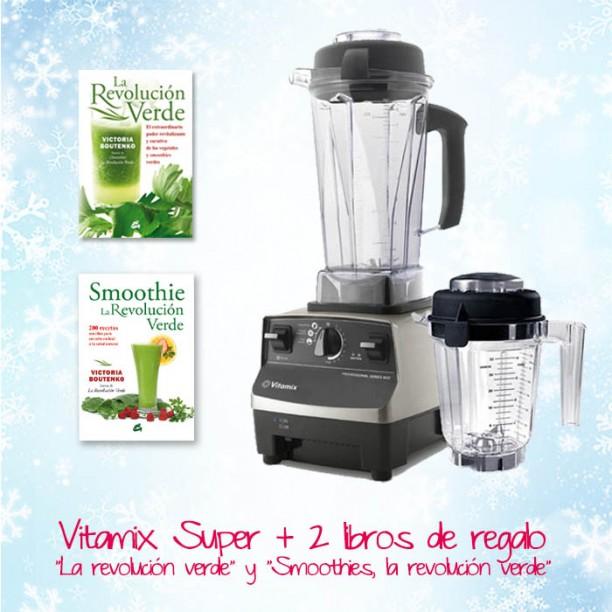 Ahora en navidad la Vitamix Pro 500 súper con 2 libros de Victoria Boutenko de regalo