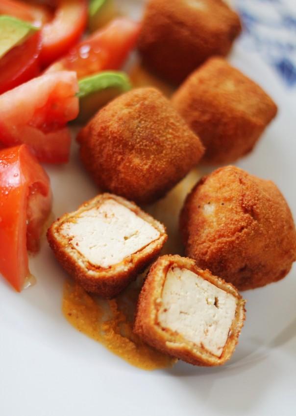 daditos de tofu adobado 3