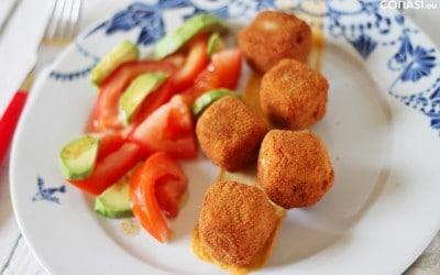 Tofu adobado, proteína vegetal