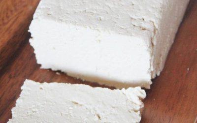 Tofu casero, proteína vegetal en estado puro