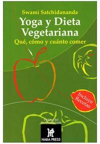 """Libro de Swami Satchidananda """"Yoga y dieta vegetariana"""""""