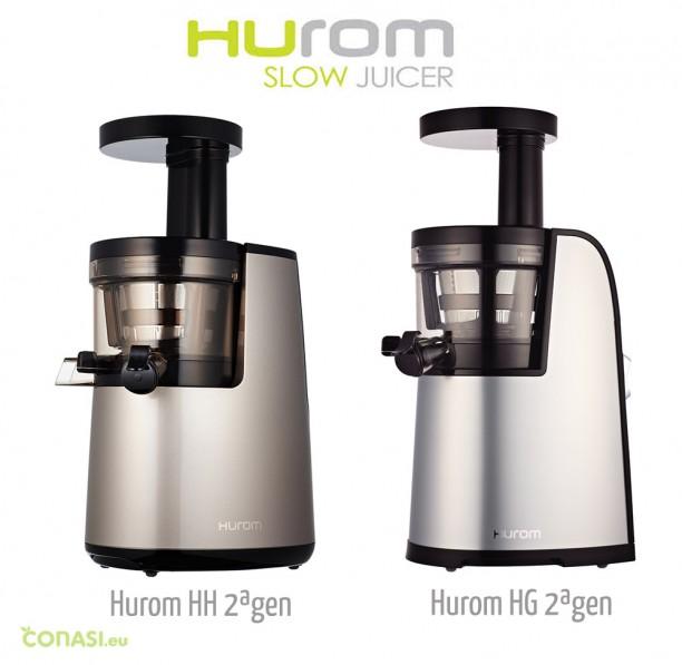 Los dos nuevos extractores Hurom de 2ª generación