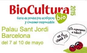 Biocultura Barcelona 2015. Sorteo de entradas