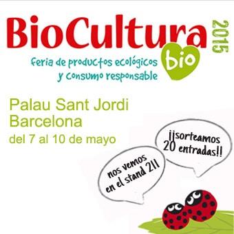 Sorteo de 20 entradas dobles para Biocultura Barcelona 2015