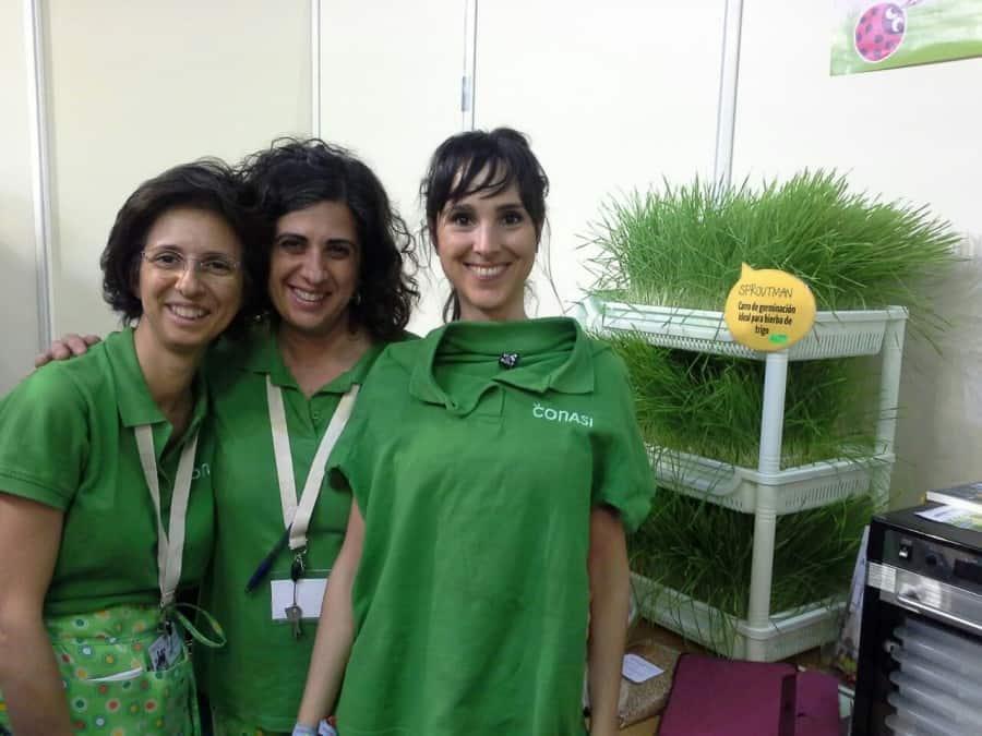 Las directoras de Conasi con Núria