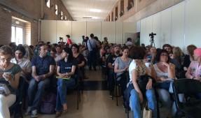 Público en la conferencia de Odile Fernández en Biocultura