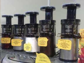 Hurom de 2ª generación, extractores lentos