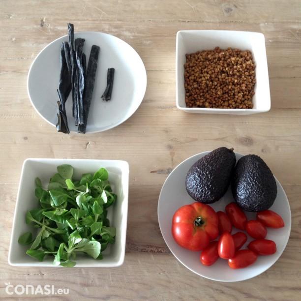 Estos son los ingredientes que hemos utilizado
