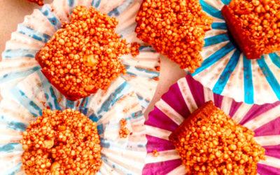 Bocaditos de quinoa y amaranto