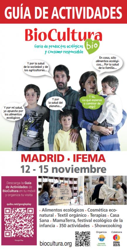 Actividades Biocultura Madrid 2015