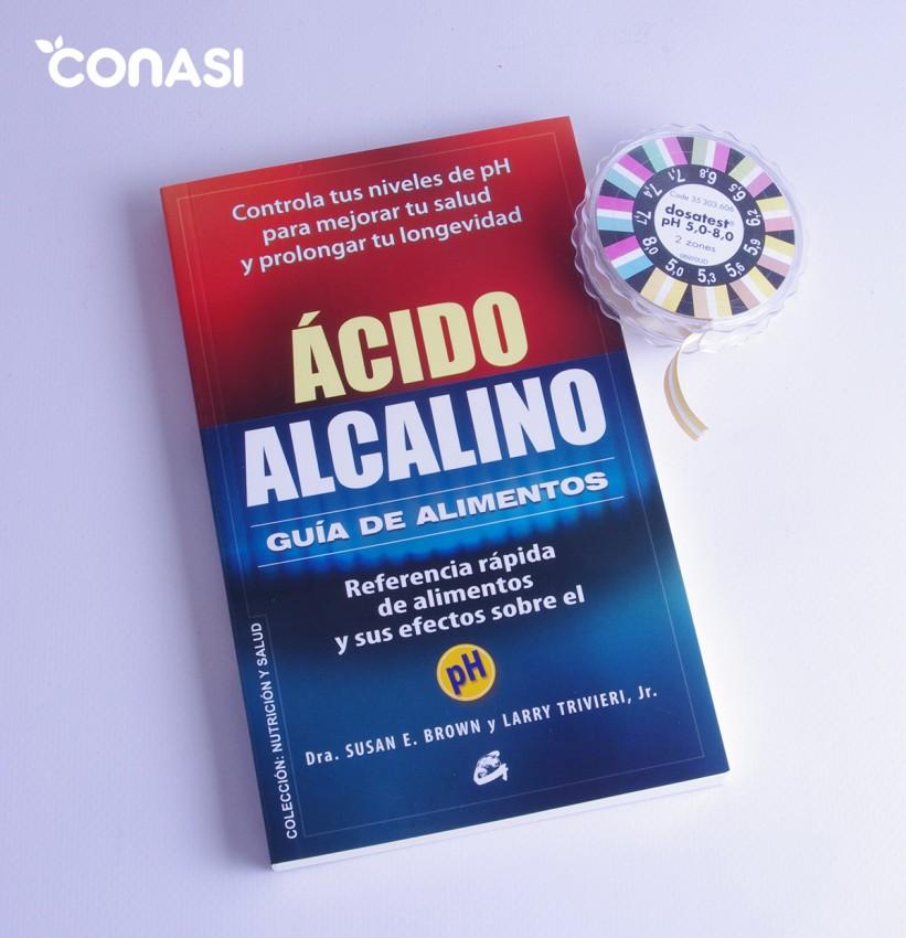 Libro Ácido Alcalino, una guía práctica para interpretar el pH de nuestro organismo