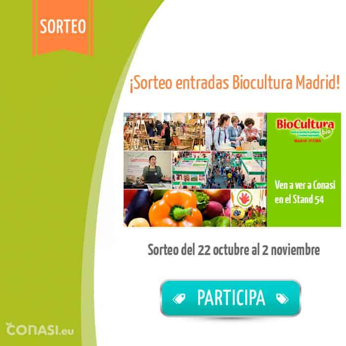 Sorteo Biocultura Madrid