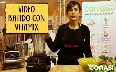 Batido verde con Vitamix - Biocultura Madrid 2015