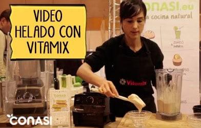 Helado Vitamix