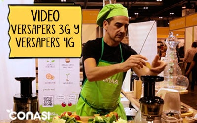 Vídeo comparativo extractor Versapers 3G-Versapers 4G