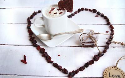 Merienda San Valentín: Corazones energéticos con l...
