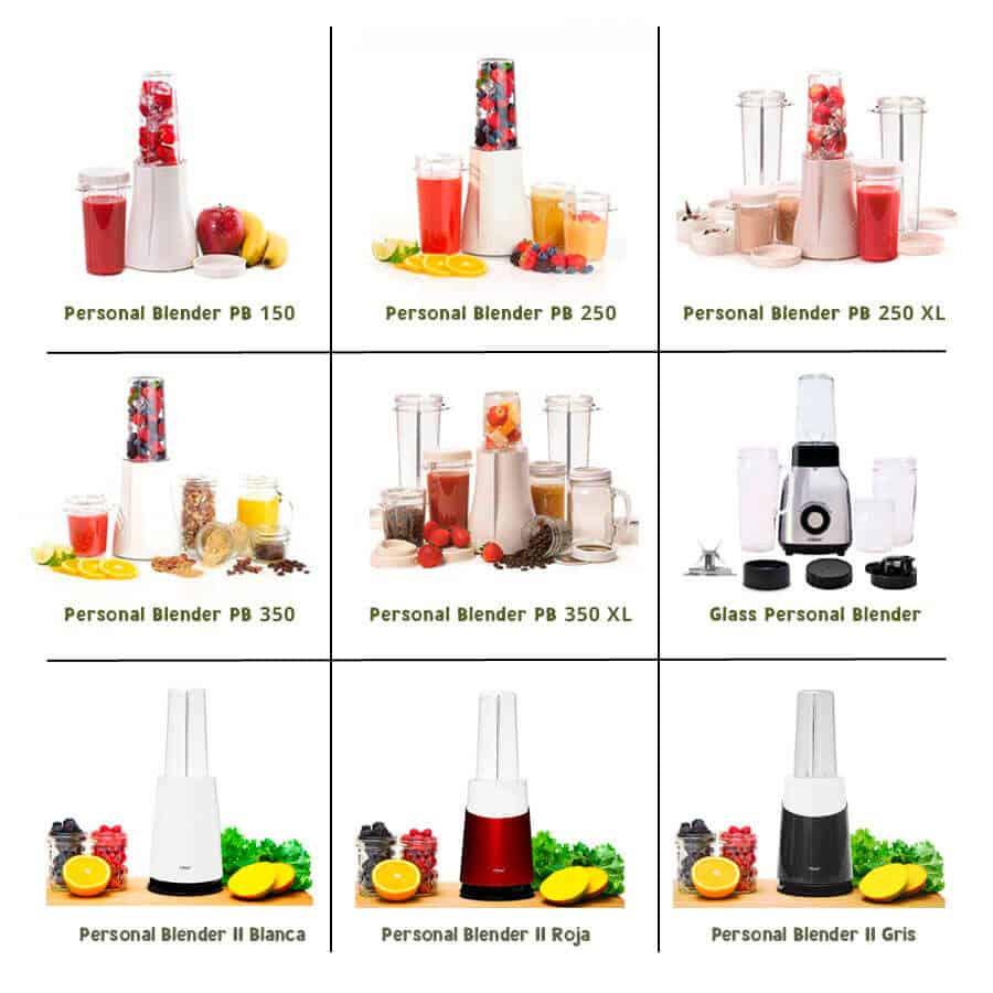 Los 7 modelos de la batidora Personal Blender
