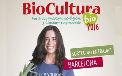 Biocultura Barcelona 2016. Actividades y sorteos