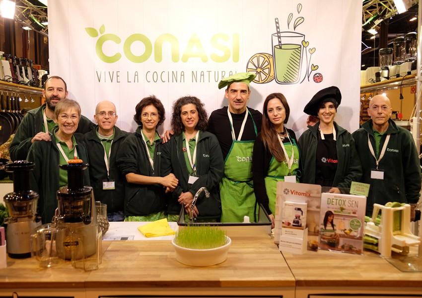 El equipo de conasi en Biocultura Madrid 2015