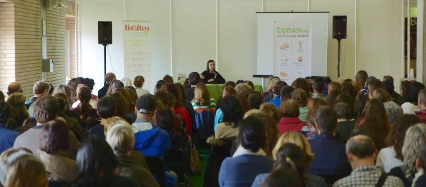 Conferencia Nura Roura, alimentación con pre y probióticos