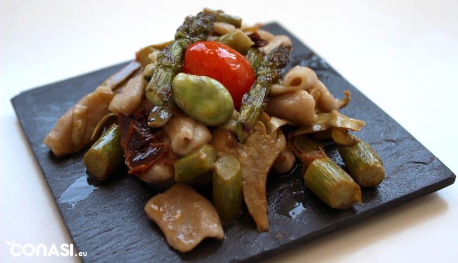 cavatelli-verduras