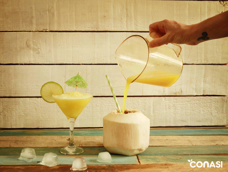 C 243 Ctel Sin Alcohol Daiquiri De Pi 241 A Y Coco