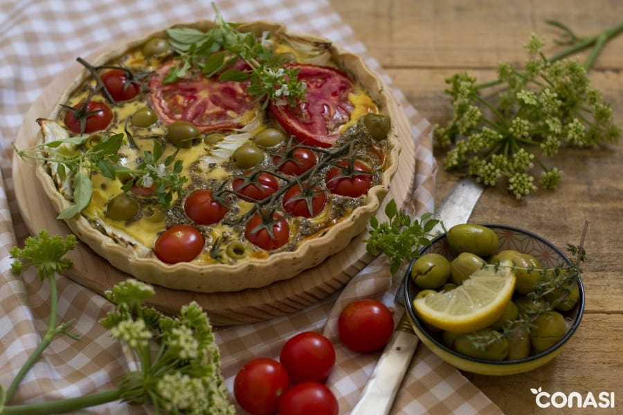 quiche-vegetariana
