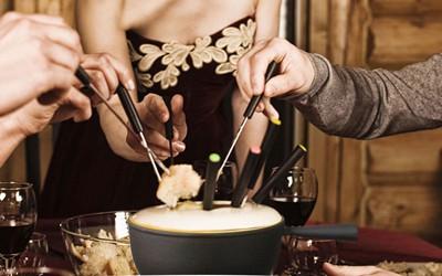 Recetas para fondue de queso