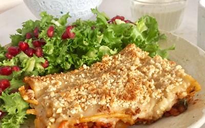 Image result for feria vegana lasagna