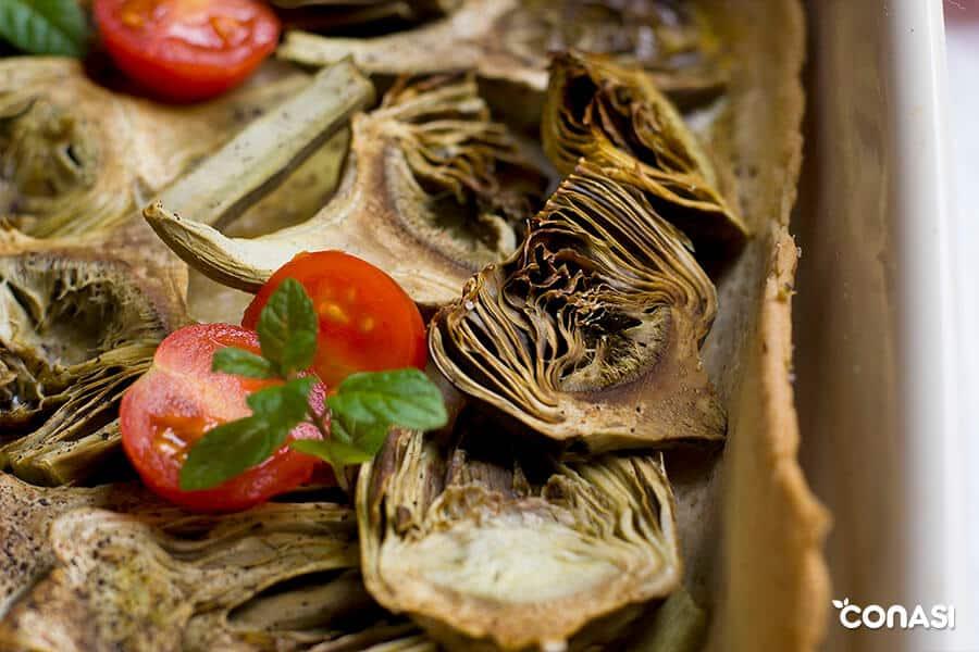 Pastel de hortalizas, ideal para dietas