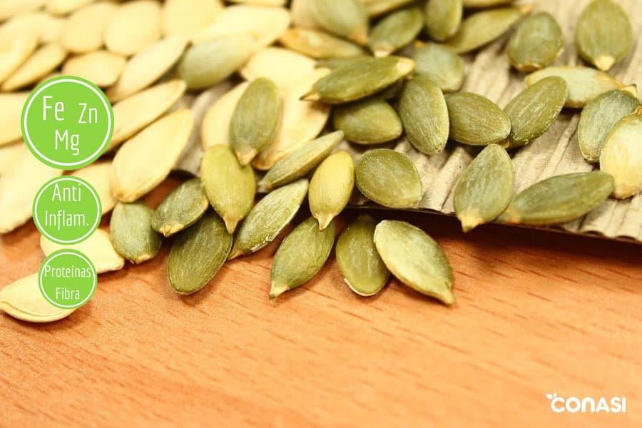 semillas saludables para tu alimentación