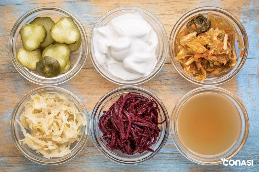 fermentación en alimentos
