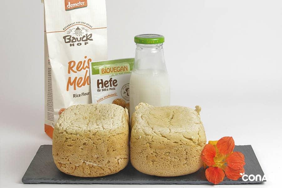 Pan de arroz 100% ecológico