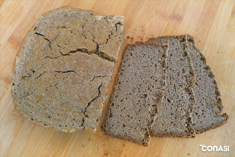 Beneficios del pan sin gluten.
