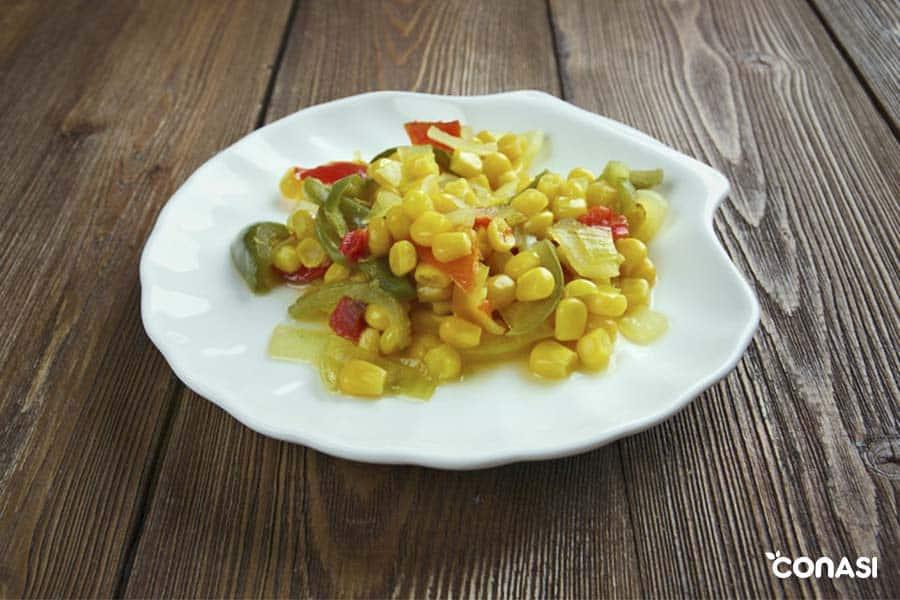 recetas de verduras: relish de maiz dulce