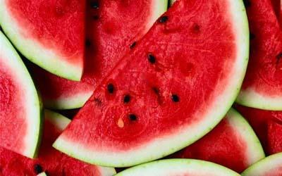 Calendario de verano de frutas y verduras