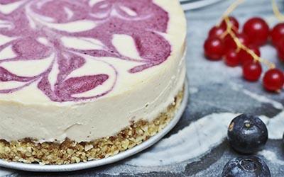tarta de queso helada