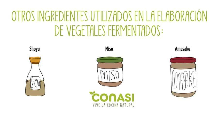 otros ingredientes para elaborar pickles