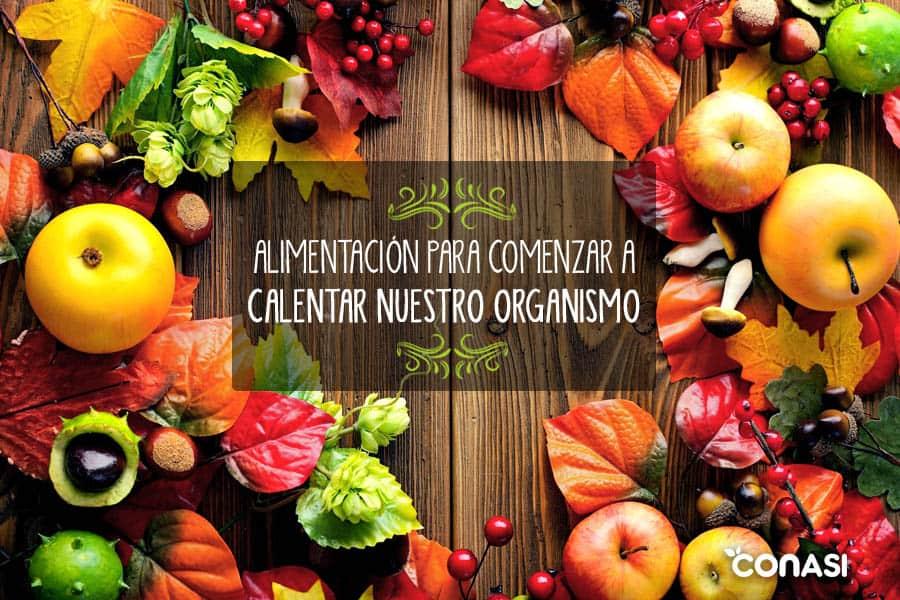 frutas y verduras otoño