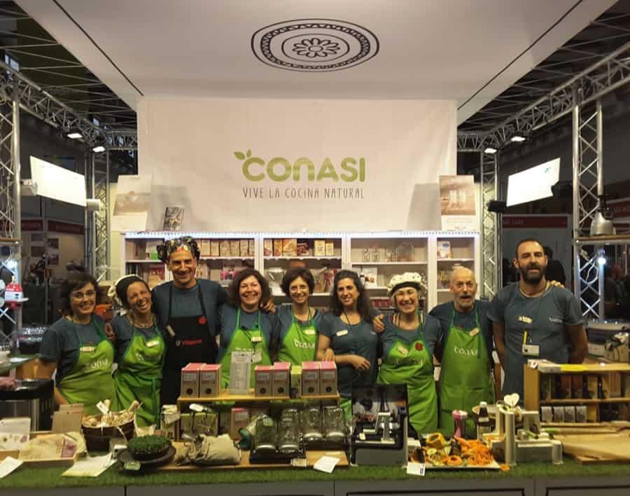 El equipo Conasi de Biocultura Barcelona 2017