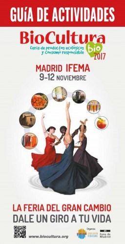 Portada de la guía de actividades de Biocultura Madrid 2017